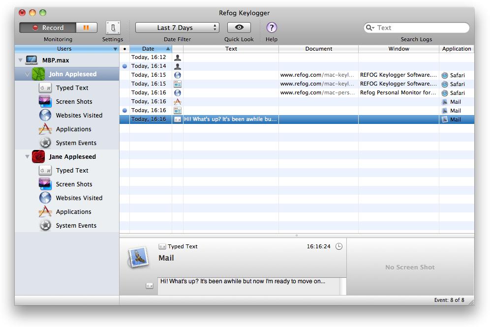 keylogger for mac, mac keylogger, keylogger mac